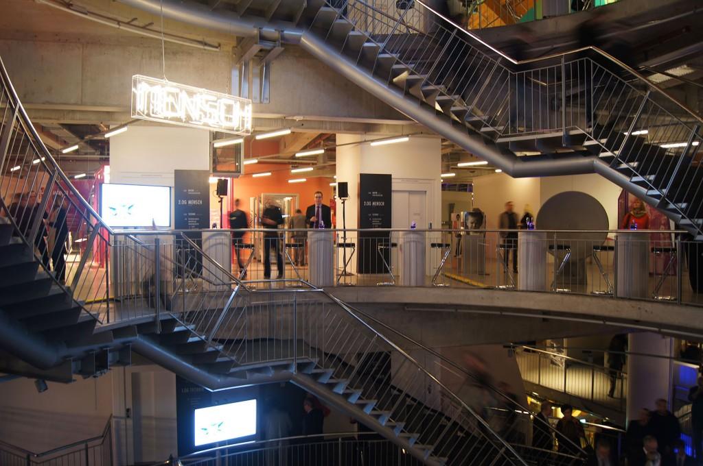 Universum Bremen Design Dauerausstellung Leitsystem