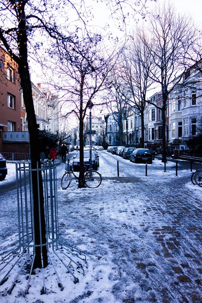 Endlich Winter in Bremen!