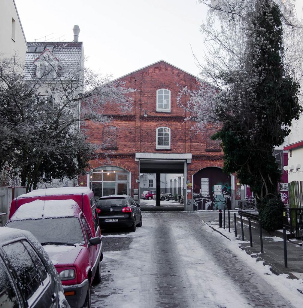 Winter Front Friesenstraße 21