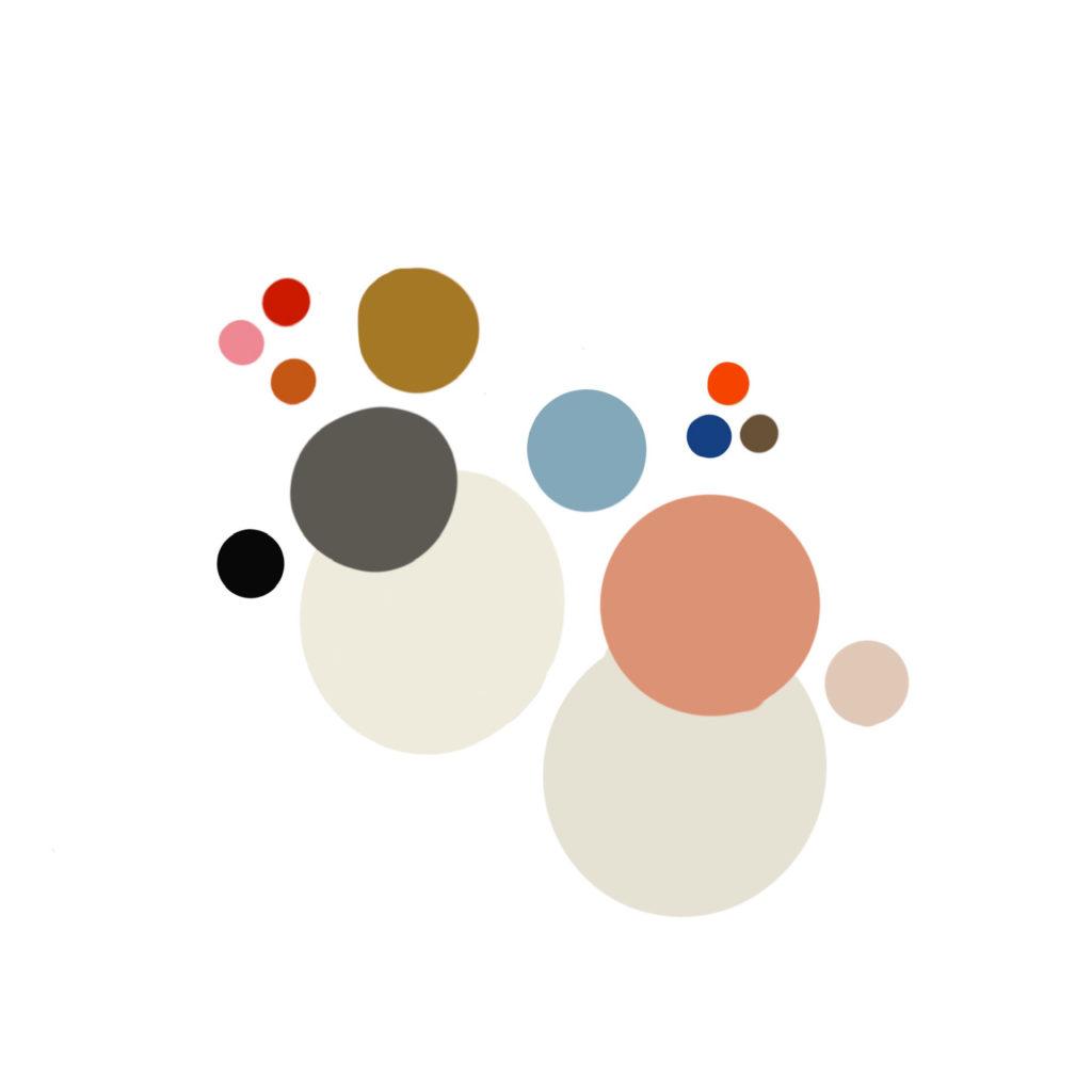 Farbpalette für Artworks